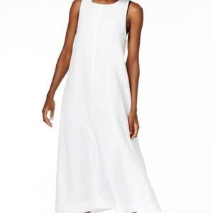 Eileen Fisher White Linen Dress